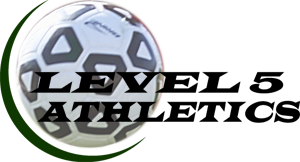 Level 5 Athletics calendar Soccer logo